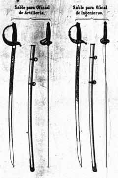 Фернандо Арамбуру Сильвия, 1876. «Альбом холодного, огнестрельного оружия и полевой артиллерии, используемых в испанской армии. Мадрид»